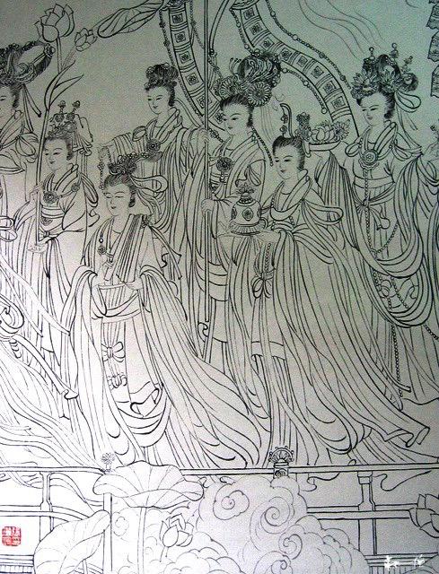 《八十七神仙卷》Eighty-seven fairy paintings